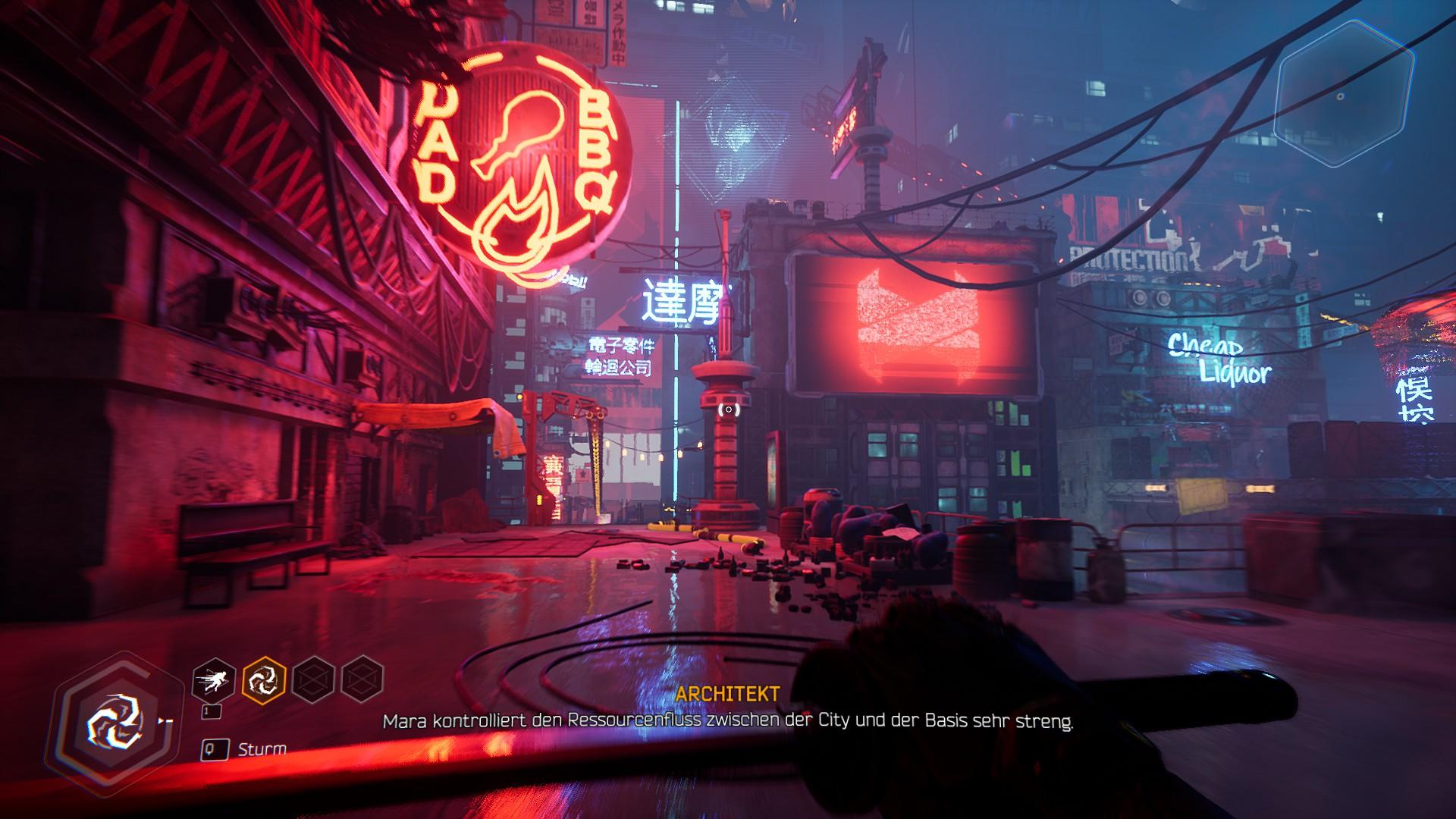 Die Stadt mit ihren Neonlichtern, ist sehr schön anzusehen.